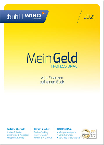 WISO Mein Geld Professional (Version 2021) (Download), PC