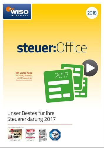 WISO steuer:Office 2018 (Download), PC