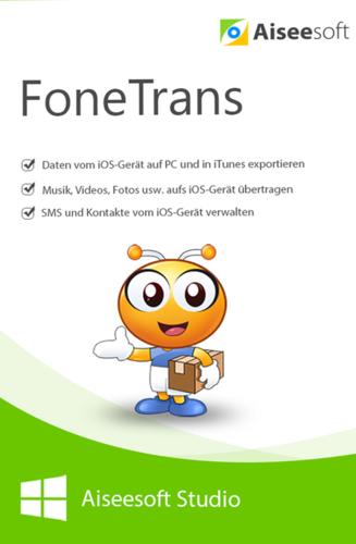 Verpackung von FoneTrans – iOS Transfer [PC-Software]