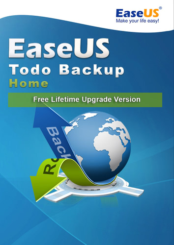 Verpackung von EaseUS easeus Todo Backup Home 12 - Free Lifetime Upgrade [PC-Software]