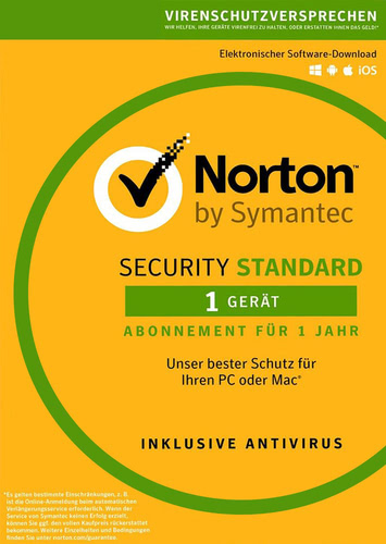 Verpackung von Symantec Norton Security 3.0 Standard - 1 Gerät [MULTIPLATFORM]