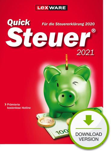 QuickSteuer 2021 (für Steuerjahr 2020) (Download), PC