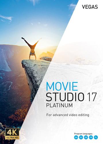 Verpackung von Vegas Movie Studio 17 Platinum [PC-Software]