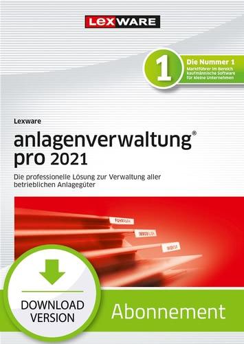 Verpackung von Lexware anlagenverwaltung pro 2021 - Abo Version [PC-Software]