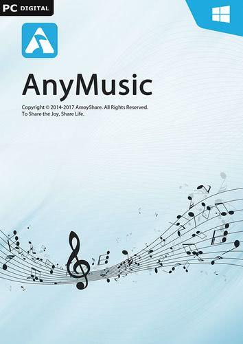 Verpackung von AnyMusic für Windows - 1 Jahr Laufzeit [PC-Software]