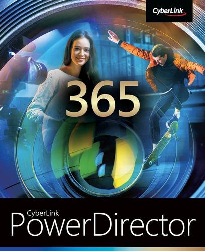 Verpackung von CyberLink PowerDirector 20 365 - 12 Monate [PC-Software]