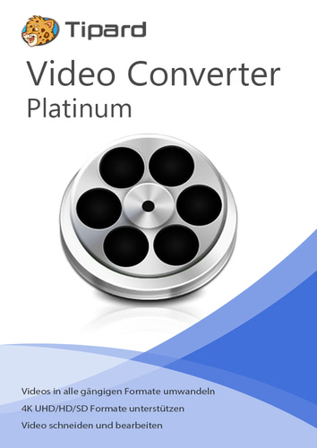 Verpackung von Tipard Video Converter Platinum - lebenslange Lizenz [PC-Software]