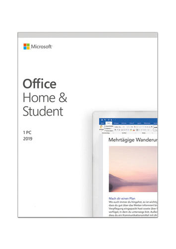 Verpackung von Microsoft Office Home & Student 2019 (Windows) [PC-Software]
