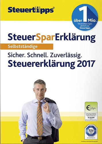 Verpackung von SteuerSparErklärung 2018 (für Steuerjahr 2017) Selbstständige (PC) [PC-Software]