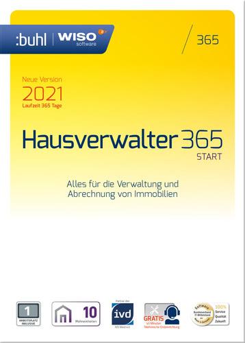 Verpackung von WISO Hausverwalter 365 Start (Version 2021) [PC-Software]