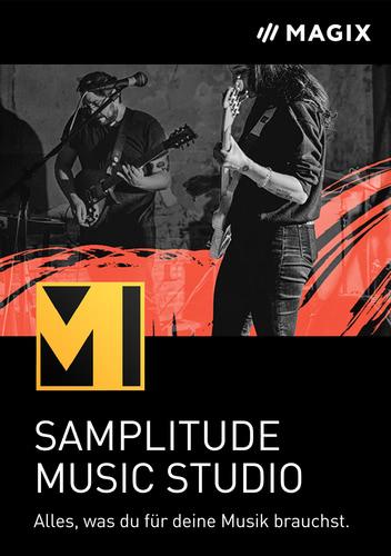 Verpackung von MAGIX Samplitude Music Studio (2022) [PC-Software]