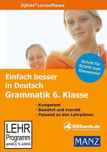 Verpackung von Einfach besser in Deutsch Grammatik 6. Klasse [PC-Software]
