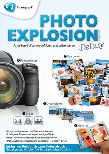 Verpackung von Photo Explosion 5 Deluxe [PC-Software]
