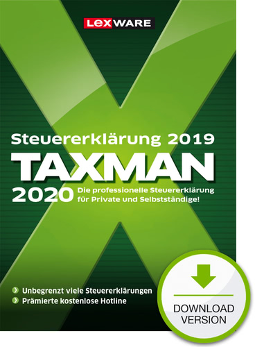 TAXMAN 2020 (für Steuerjahr 2019) (Download), PC