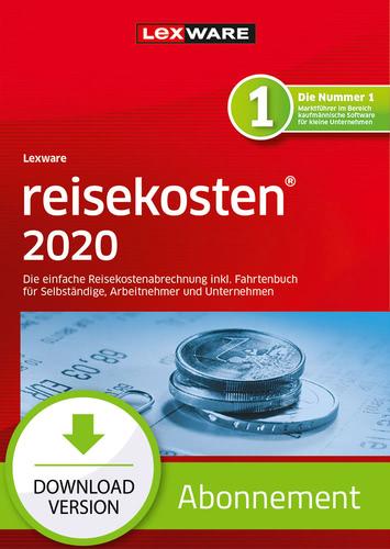 Verpackung von Lexware reisekosten 2020 - Abo-Version [PC-Software]