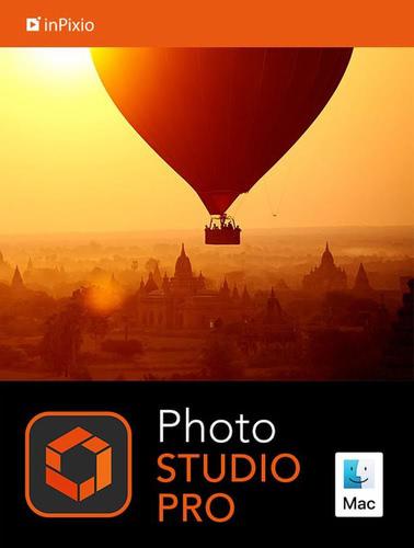 Verpackung von inPixio Photo Studio 10 Pro für MAC - 1 MAC / 1 Jahr [Mac-Software]
