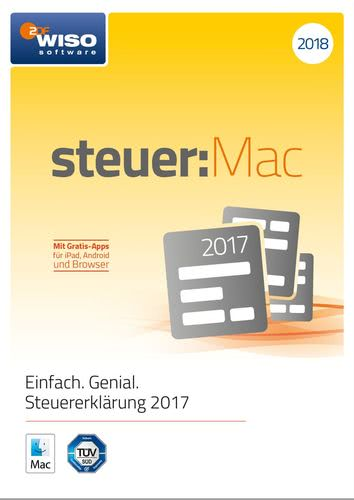 WISO steuer:Mac 2018 (für Steuerjahr 2017) (Download), MAC