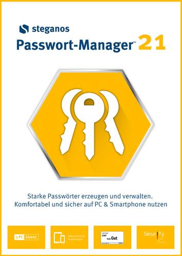 Verpackung von Steganos Passwort-Manager 21 [PC-Software]