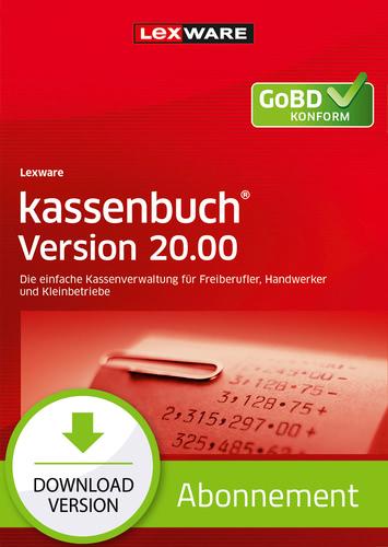 Verpackung von Lexware kassenbuch Version 20.00 (2021) - Abo Version [PC-Software]