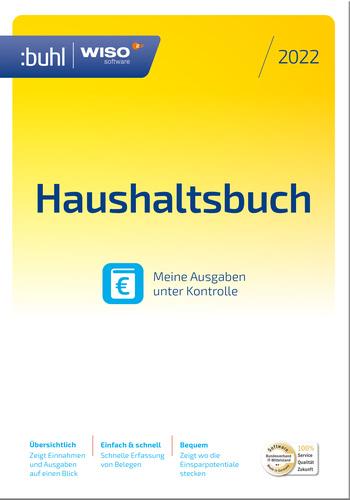 Verpackung von WISO Haushaltsbuch 2022 [PC-Software]