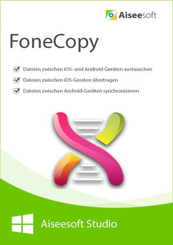 Verpackung von FoneCopy - Phone Transfer - Lebenslange Lizenz [PC-Software]
