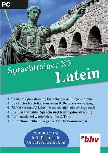 Verpackung von Sprachtrainer X3 Latein [PC-Software]