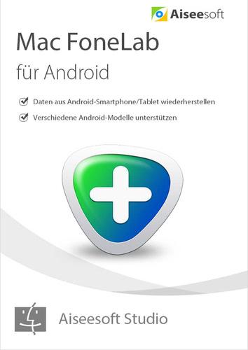 Verpackung von FoneLab - Android Data Recovery für Mac - Lebenslage Lizenz [Mac-Software]