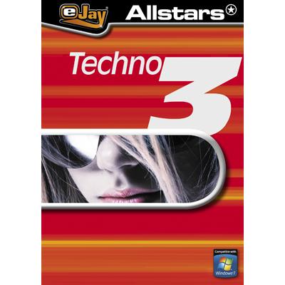 Verpackung von eJay Allstars Techno 3 [PC-Software]