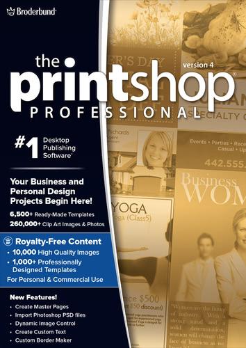Verpackung von Printshop 4 Pro [PC-Software]