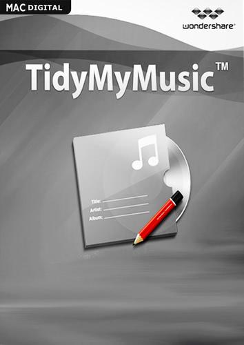 Verpackung von Wondershare Wondershare TidyMyMusic für Mac [Mac-Software]