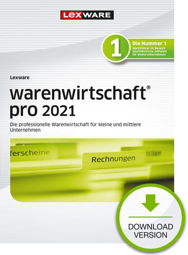 Verpackung von Lexware warenwirtschaft pro 2021 - Jahresversion (365 Tage) [PC-Software]