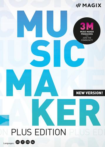 Verpackung von Music Maker 2020 Plus Edition [PC-Software]