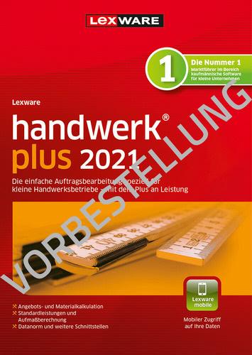 Verpackung von Lexware handwerk plus 2022 – Jahresversion (365 Tage) - Vorbestellung [PC-Software]