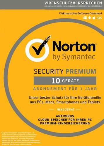 Norton Security 3.0Premium – 10 Geräte (Download), Multi