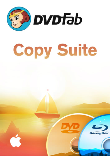 Verpackung von DVDFab Copy Suite Mac (DVD Copy & Blu-ray Copy) Mac [Mac-Software]