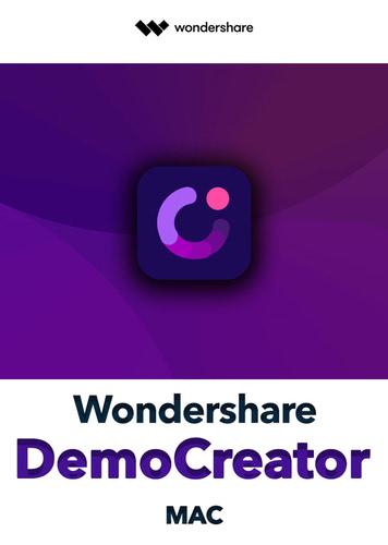 Verpackung von Wondershare DemoCreator für MAC [PC-Software]