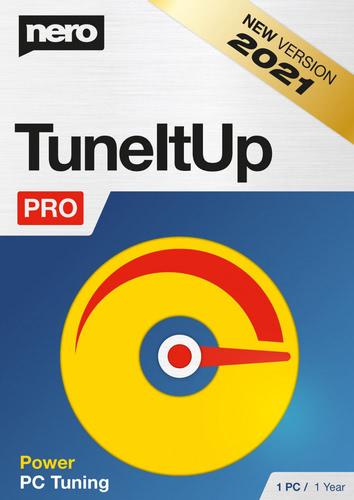Verpackung von Nero TuneItUp PRO - Jahresversion (365 Tage) [PC-Software]