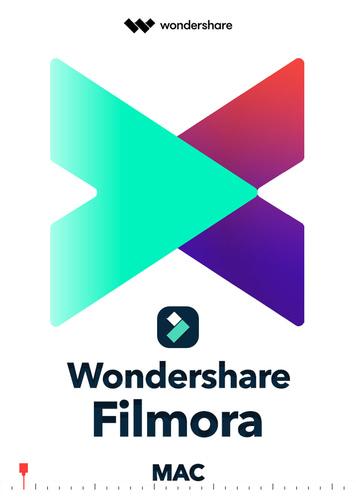 Verpackung von Wondershare Filmora X für MAC - lebenslange Lizenz [Mac-Software]