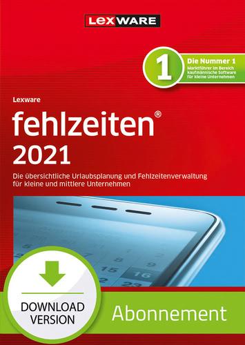 Verpackung von Lexware fehlzeiten 2021 - Abo Version [PC-Software]