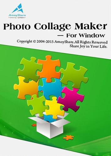 Verpackung von Amoyshare Photo Collage Maker für PC [PC-Software]