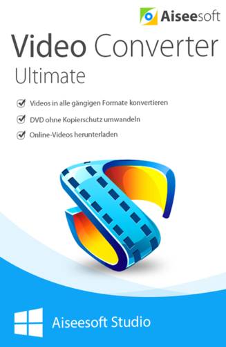 Verpackung von Aiseesoft Video Converter Ultimate [PC-Software]