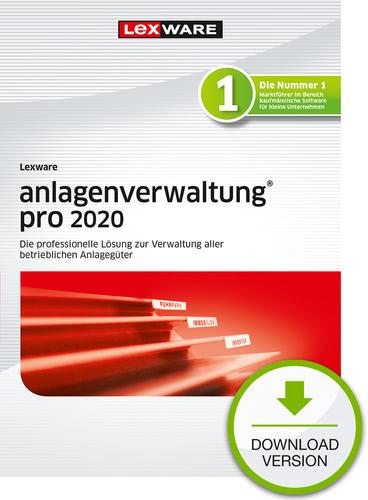 Verpackung von Lexware anlagenverwaltung pro 2020 - Jahresversion (365-Tage) [PC-Software]