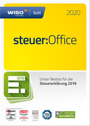 WISO Steuer-Office 2020 für die Steuererklärung 2019 (Download), PC
