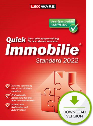 Verpackung von QuickImmobilie Standard 2022 [PC-Software]