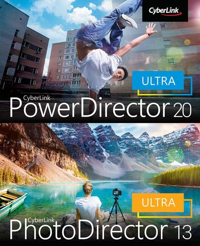 Verpackung von CyberLink PowerDirector 20 Ultra & PhotoDirector 13 Ultra Duo [PC-Software]