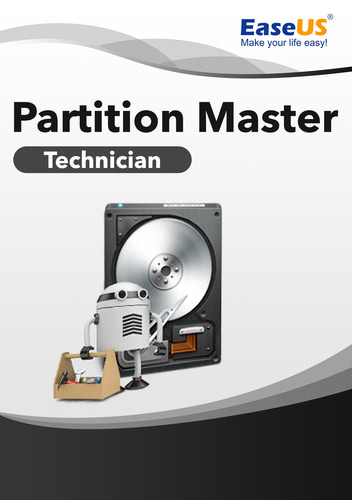 Verpackung von EaseUS Partition Master 15 Technician [PC-Software]