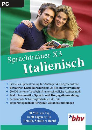 Sprachtrainer X3  Italienisch (Download), PC