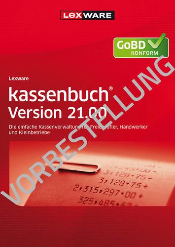 Verpackung von Lexware kassenbuch Version 21.00 (2022) - Jahresversion (365-Tage) [PC-Software]