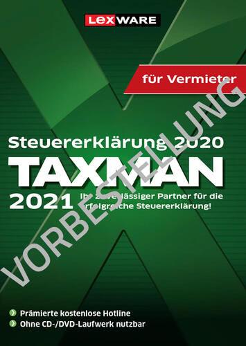 Verpackung von Taxman 2022 für Vermieter (für Steuerjahr 2021) - Vorbestellung [PC-Software]