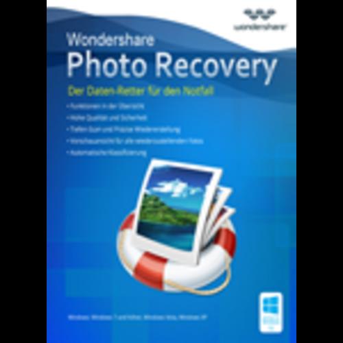 Verpackung von Wondershare Photo Recovery für PC [PC-Software]